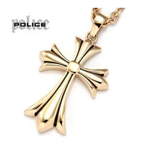 POLICE ポリス 25154PSG02 GRACE クロス ネックレス/ペンダント ゴールド|j-sekine2nd