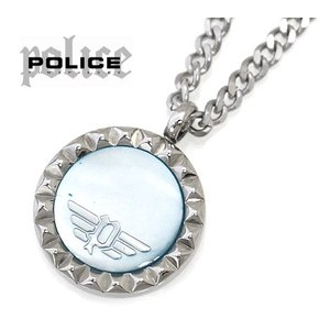 POLICE ポリス 26515PSS01 VERNAZZA ネックレス ペンダント アクセサリー シルバー×ブルー|j-sekine2nd