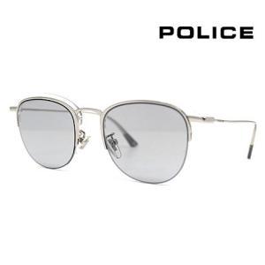 POLICE ポリス SPL784 579X 50 サングラス FLOAT2 フロート2 シルバー×クリア ブロー/サーモント 正規品|j-sekine2nd