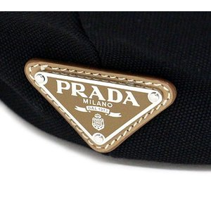 PRADA プラダ 1BG163 ZKI F0002 CANAPA カナパ キャンバス 2WAYショルダーバッグ トートバッグ NERO ブラック ラッピング不可|j-sekine2nd|03