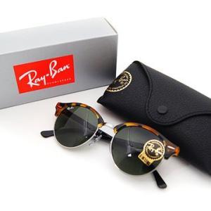 Ray Ban  レイバン RB4246 1157 51 サングラス CLUBROUND クラブラウンド トータス×ブラック/シルバー 正規品|j-sekine2nd|03