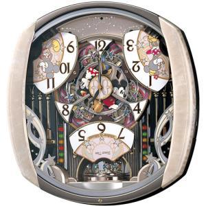 セイコー キャラクターメロディ電波からくり掛時計 ディズニータイム FW563A 電波時計/掛け時計/振り子時計/からくり時計|j-shop