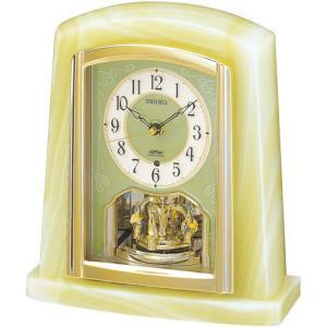 セイコー 電波置時計(オニキス枠) BY223M 電波時計/置き時計|j-shop