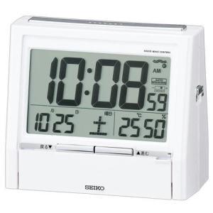 DA206W SEIKO セイコー 電波目覚し時計 TALK LINER トークライナー アラームデジタル置時計/電波置き時計/電波置時計/目覚まし時計|j-shop