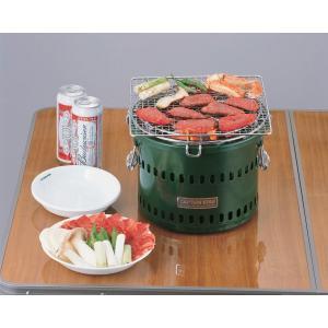 炭焼き名人 万能七輪 水冷式  M-6482 バーベキューコンロ|j-shop