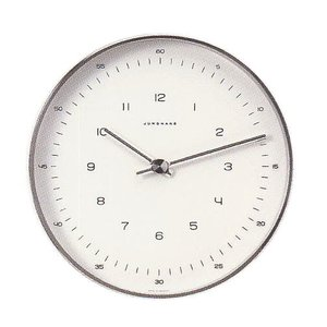 マックスビル掛時計/22cmユンハンス367/6048正規品|j-tajima