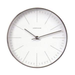 マックスビル掛時計/22cm ユンハンス367/6049正規品|j-tajima