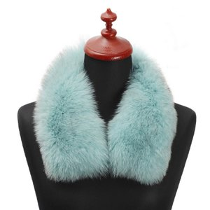 [ huyu0719  ]お手持ちのコートが華やかに変身! フォックスファーカラー。 長い毛足が暖か...