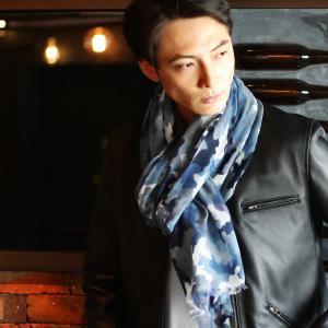 Filomo 軽くて 暖かい アルバス カシミヤ100% ガーゼ ストール 大判 メンズ 全10色(No.02000141-mens-1) j-white