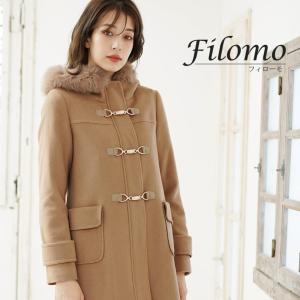 Filomo/フィローモ ウール ダッフルコート レディース...