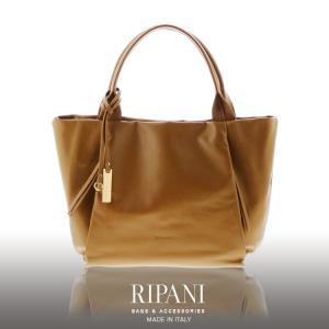 RIPANI リパーニ イタリア製 牛革 トートバッグ A4 対応 ソフト レザー レディース 大きいサイズ 全5色 (No.07000253) ブランド|j-white