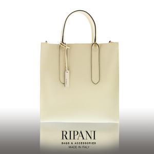 RIPANI/リパーニ イタリア製 サフィアーノ レザー トートバッグ 2way A4 牛床革 縦型 レディース 全5色 (No.07000254) ブランド|j-white