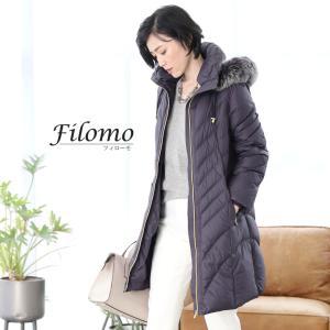 Filomo [フィローモ]ダウン コート フォックス ファー トリミング レディース|j-white