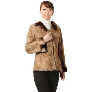 素材感が大人のモード感を呼ぶ、ムートンWフェイスジャケット。 定番かつ上品なテーラードのデザイン。 ...