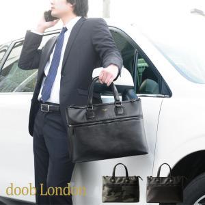 doob London/ドゥーブロンドン 本革 ビジネスバッグ A4対応 2WAY メンズ 迷彩カーキ/ブラック(No.09000074) ブランド|j-white