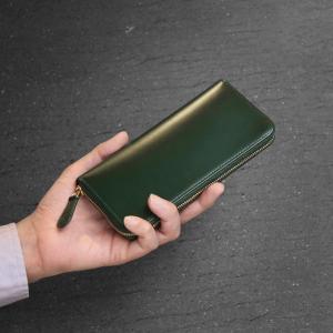 財布 メンズ 長財布 コードバン doob London ブランド ラウンドファスナー 本革 薄型 スリム 全5色(No.09000086-mens-1)|j-white