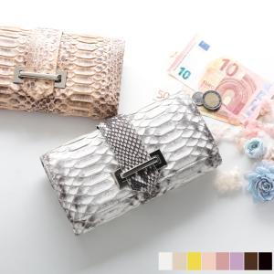 パイソン 財布 レディース 蛇革 パイソン ヘビ 財布 さいふ サイフ /●デザイン 差し込み式の金...