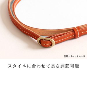 ネックストラップ スマホ 本革 ストラップ 栃木レザー 日本製 HUKURO|jacajaca|03