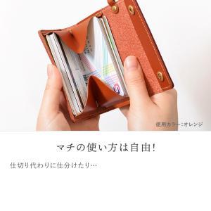カードケース メンズ レディース 本革 栃木レザー カードいっぱいケース HUKURO jacajaca 05
