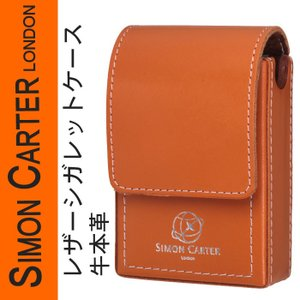 SIMON CARTER サイモンカーター レザー シガレットケース 牛革 SCP-301 送料無料 jackal