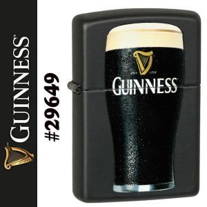zippo(ジッポーライター) ギネスビール GUINNESS BEER ブラックマット #29649|jackal
