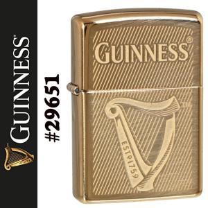 zippo(ジッポーライター) ギネスビール GUINNESS BEER ハイポリッシュブラス 真鍮 ジッポ #29651|jackal