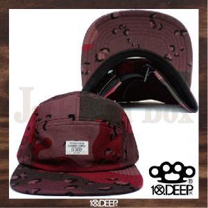 10DEEP 5PANEL JET CAP(CAMP CAP...