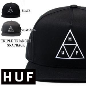 huf ハフ huf 2018 spring triple triangle snapback cap ハフ トリプル