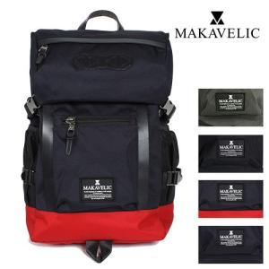 MAKAVELIC/マキャベリック ダブルライン バックパック 3106-10107|jackpot
