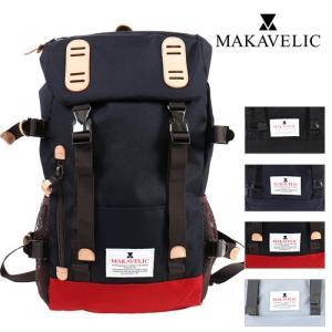 MAKAVELIC/マキャベリック DOUBLE BELT ZONE MIX トラックスデイパック 3106-10118|jackpot
