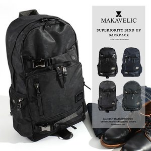 MAKAVELIC/マキャベリック SUPERIORITY BIND UP BACKPACK バックパック 3106-10105|jackpot