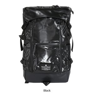 MAKAVELIC/マキャベリック バックパック 「CHASE」 DOUBLE LINE BACKPACK BLACK EDITION 3107-10123|jackpot|02