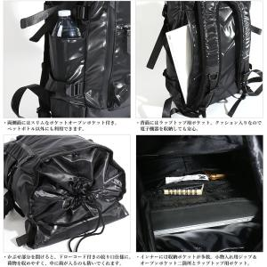 MAKAVELIC/マキャベリック バックパック 「CHASE」 DOUBLE LINE BACKPACK BLACK EDITION 3107-10123|jackpot|05