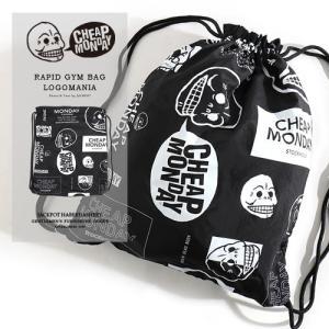 CHEAP MONDAY/チープマンデー ジムバッグ Rapid gym bag Logomania 0512226-S|jackpot