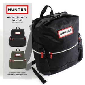 HUNTER/ハンター ナイロントップクリップバックパック ORIGINAL BACKPACK WR NYLON UBB6017ACD|jackpot