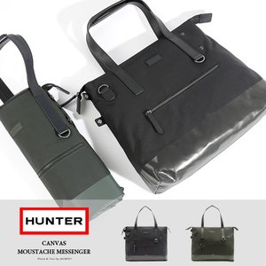 HUNTER/ハンター キャンバスメッセンジャートートバッグ CANVAS MOUSTACHE MESSENGER UBS7008CPN|jackpot