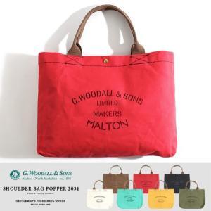 G.WOODALL&SONS/ジョージウッドオール&サンズ キャンバストートバッグ Shoulder Bag Canvas 2034|jackpot