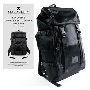 MAKAVELIC/マキャベリック バックパック EXCLUSIVE DOUBLE BELT DAYPACK ZONE MIX 3108-10106|jackpot