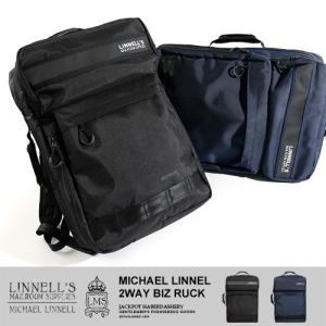 MICHAEL LINNELL/マイケルリンネル 2WAYバックパック 2Way Biz Ruck ML-024|jackpot
