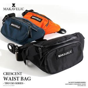MAKAVELIC/マキャベリック ウエストバッグ TRUCKS CRESCENT WAISTBAG 3108-10304|jackpot