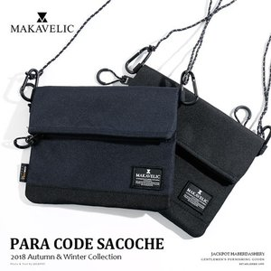 MAKAVELIC/マキャベリック パラコードサコッシュ PARA CODE SACOCHE 3108-10508|jackpot