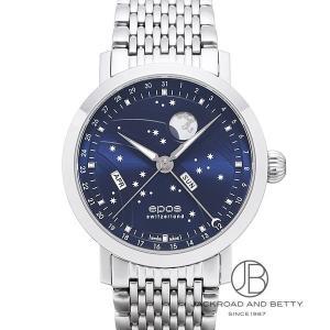 エポス EPOS ナイトスカイ ビッグムーン 3440BLM 新品 時計 メンズ|jackroad
