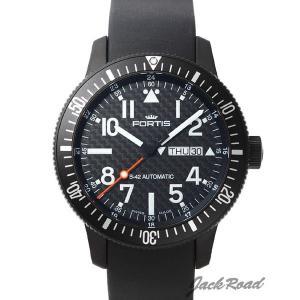 フォルティス FORTIS B-42 ブラック デイデイト 647.28.71K  時計 [メンズ]