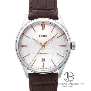 オリス ORIS アートリエ クロノメーター デイト 737 7721 4031D 新品 時計 メン...