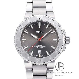 オリス ORIS アクイス デイト レリーフ 733 7730 4153M 新品 時計 メンズ