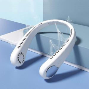 ネッククーラー【送料無料】ネック冷却クーラー 首掛け扇風機 冷風扇 携帯扇風機 USB 充電式 瞬間...