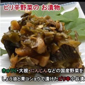 ピリ辛小谷漬 160g|jadaihoku