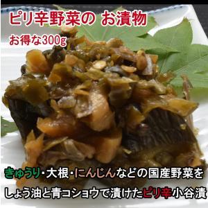 ピリ辛小谷漬 (大) 300g|jadaihoku