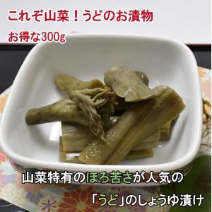 山うど木の葉漬(うどしょうゆ漬)(大)(300g)|jadaihoku