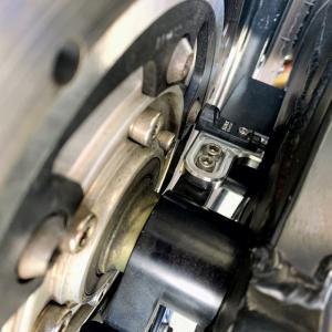 ACTIVEスピードメーターセンサーステー 削り出し バイク用 マグネットセンサー JagerLauftK.M.T.  jagerlauft